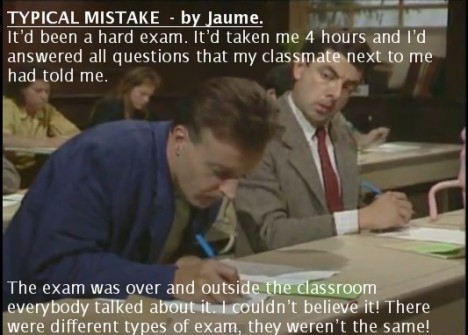 THE EXAM - JAUME