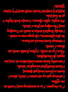 Amparo's Voki transcription upsidedown