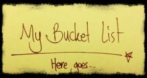 bucket list1