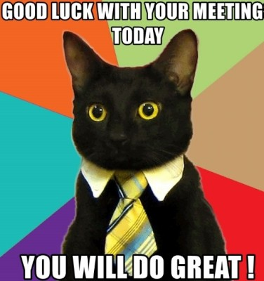 good luck meeting